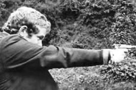 Martin McGuinness in the days of terror.