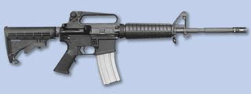 The Bushmaster M4 Carbine, used at Newtwon, aka the AR-15 or Armalite rifle