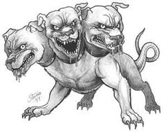 Cereberus - The Three-Headed Dog That Guards The Gates Of Hell