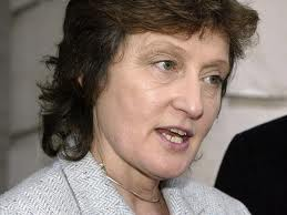 Geraldine Finucane, stormed out of Downing Street