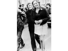 Dolours and Marian at a civil rights demo circa 1968-1969