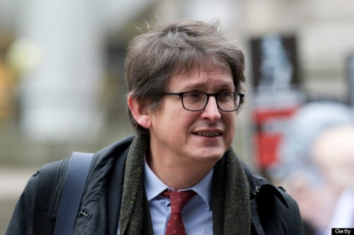 Guardian editor-in-chief, Alan Rusbridger