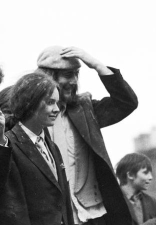 Normally I have no difficulty finding photos of people featured in this blog on the web. But EIlis McDermott has been remarkably camera-shy and I can find none of her at all, least of all one with her barrister's wig on. Full disclosure: Eilis is a long time friend and so I had this photo of her from our days at QUB. This one was taken on Rag Day as the flour-peppered hair suggests.