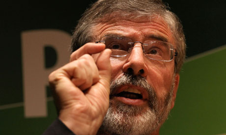 Gerry Adams, claims of an IRA-free life just not credible