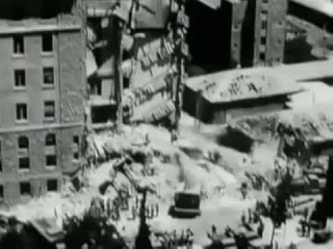 The King David Hotel after the Irgun bombing attack