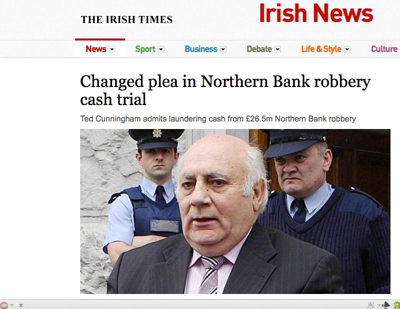The Northern Bank Robbery: Re-writing History, Irish-Style | The ...