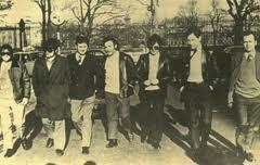 The seven IRA escapers in Dublin