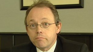 Barra McGrory - kept a file on a consultation with Gerry Adams but did not disclose it to PSNI or his own prosecution service