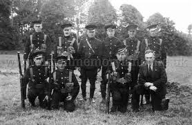 'B' Specials pose for a photograph - undated