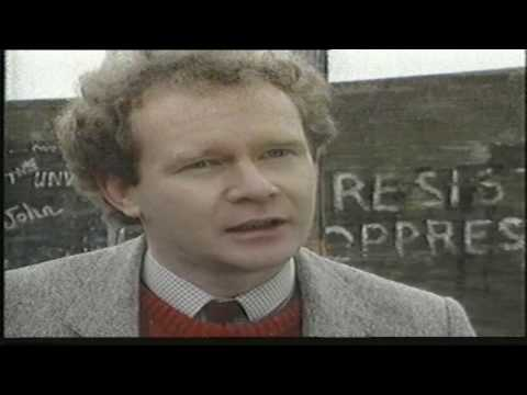 Martin McGuionness - IRA Chief of Staff when Brendan Megraw was disappeared