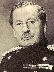 Vice-Chief of the British General Staff, 1973, Sir David Fraser