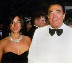 Ghislaine Maxwell, daughter of media crook Robert Maxwell