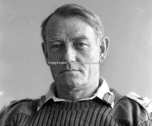 General Sir Frank King, British GOC in Northern Ireland in 1973