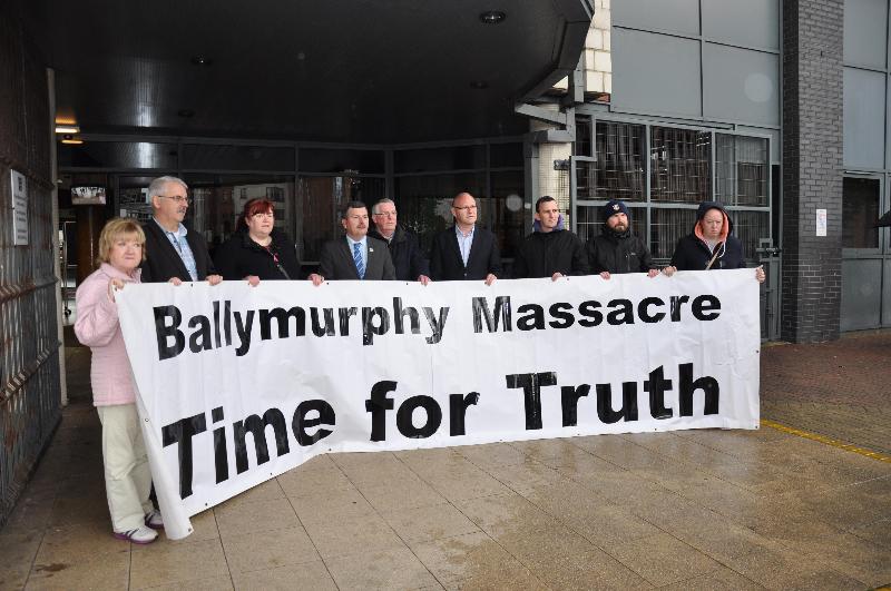 Ballymurphy Protest Millfield
