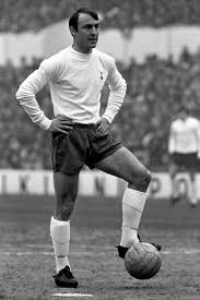 Jimmy Greaves, in his heyday, playing for Spurs