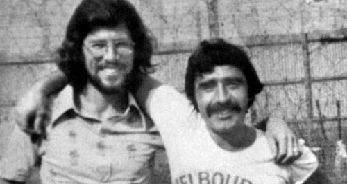 Gerry and Brendan, in happier days