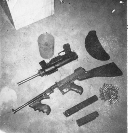 Grease Gun and Thompson from Ballymurphy