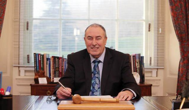 'Was It For This The Wild Geese Fled?' The Speaker Of The NI Assembly, Mitchel McLaughlin