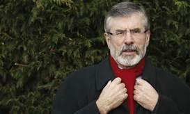 Gerry Adams - his niece heads RNU in Belfast