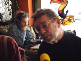 Pete Hamill being interviewed on RFE