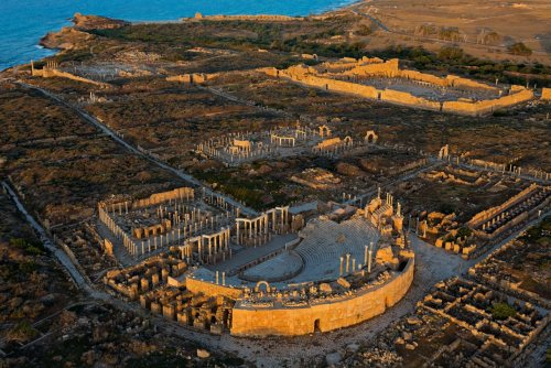 The Roman theatre at Sabratha