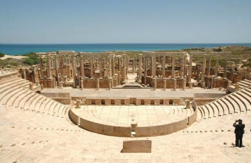The theatre at Leptis Magna