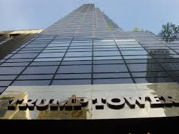 Trump Tower - constructed of concrete supplied by mob boss 'Fat' Tony Salerno
