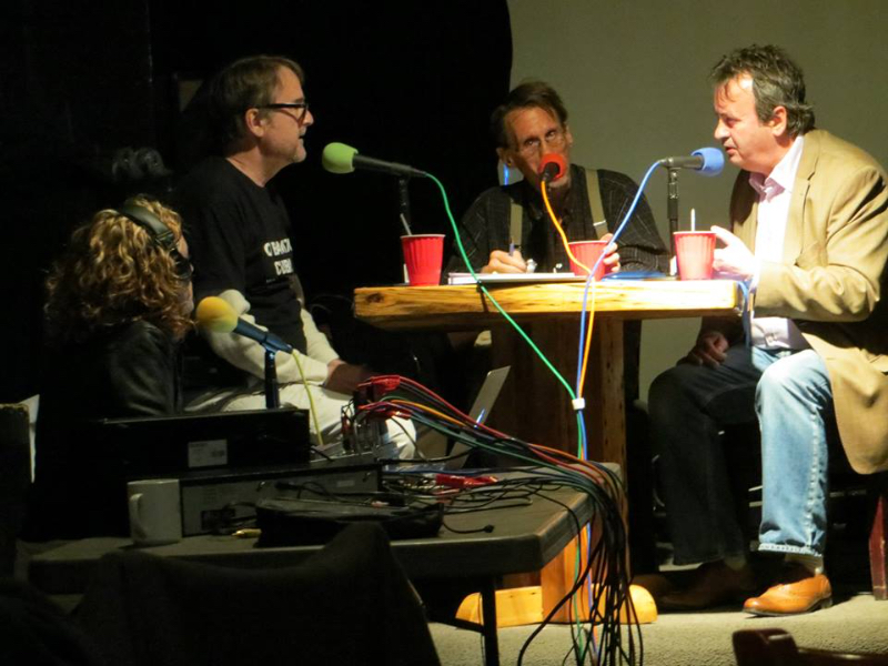 Gerry Conlon (r) interviewed on WBAI by Sandy & John McDonagh