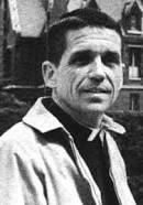 Daniel Berrigan pictured in the 1970's