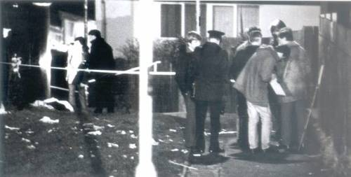 The remains of Joe Fenton, found in a West Belfast housing estate in February 1989