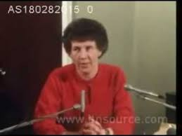 Valerie Shaw, Paisley's secretary pictured at a 1982 press conference when she accused Paisley of ignoring warnings about McGrath. MI5 wanted to recruit her as an agent....