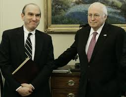Elliot Abrams and a friend